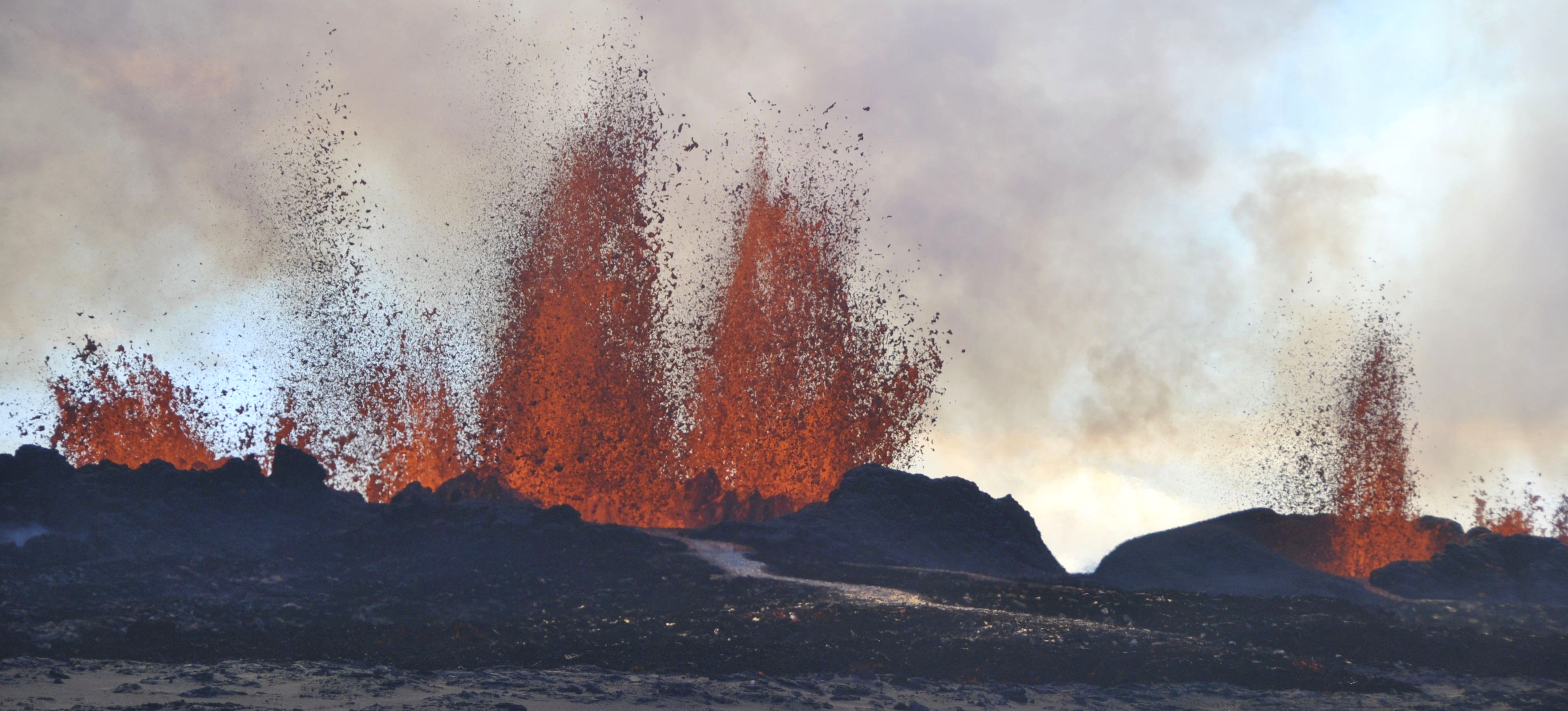 Chasing the volcano | University of Cambridge Measuring Instruments