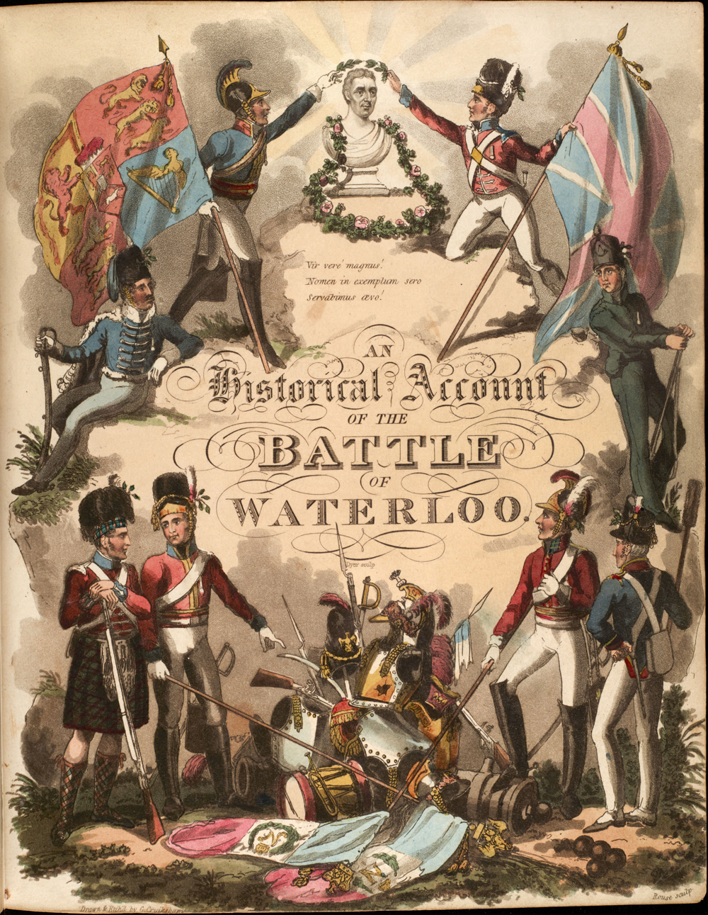 A history of the battle of waterloo