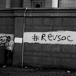 Research on Egypt is looking at how to read revolution and grass roots opposition through social media