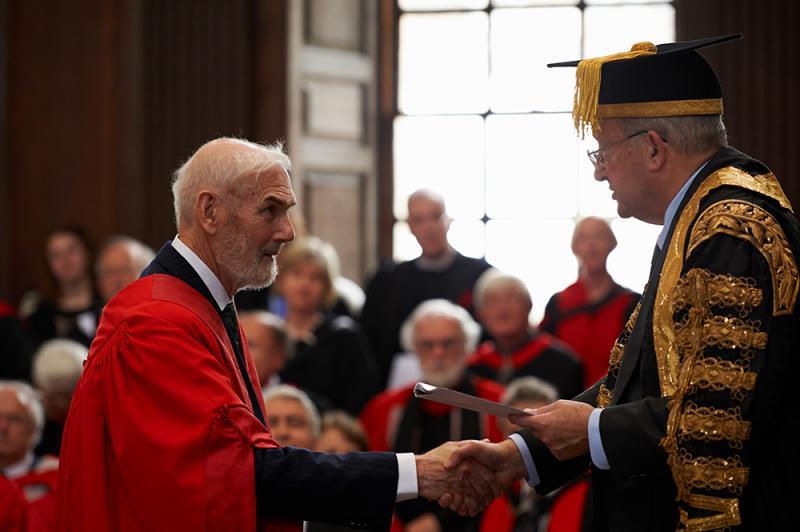 The ceremony | University of Cambridge