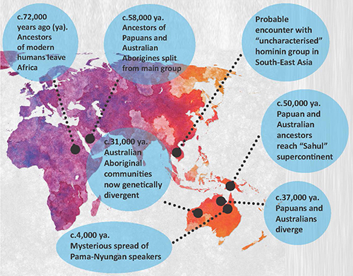 Map Of Australian Universities.Unprecedented Study Of Aboriginal Australians Points To One Shared