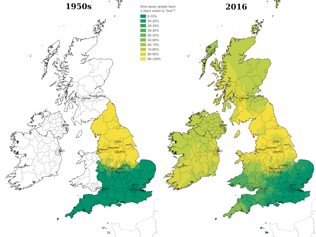 cambridge app maps decline in regional diversity of english dialects university of cambridge