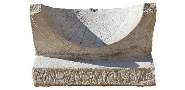 Archaeologists uncover rare 2000 year old sundial during roman archaeologists uncover rare 2000 year old sundial during roman theatre excavation university of cambridge altavistaventures Gallery