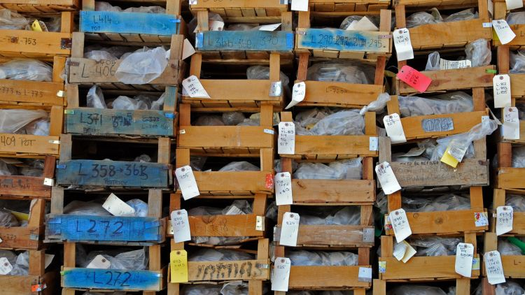 Artefacts in crates