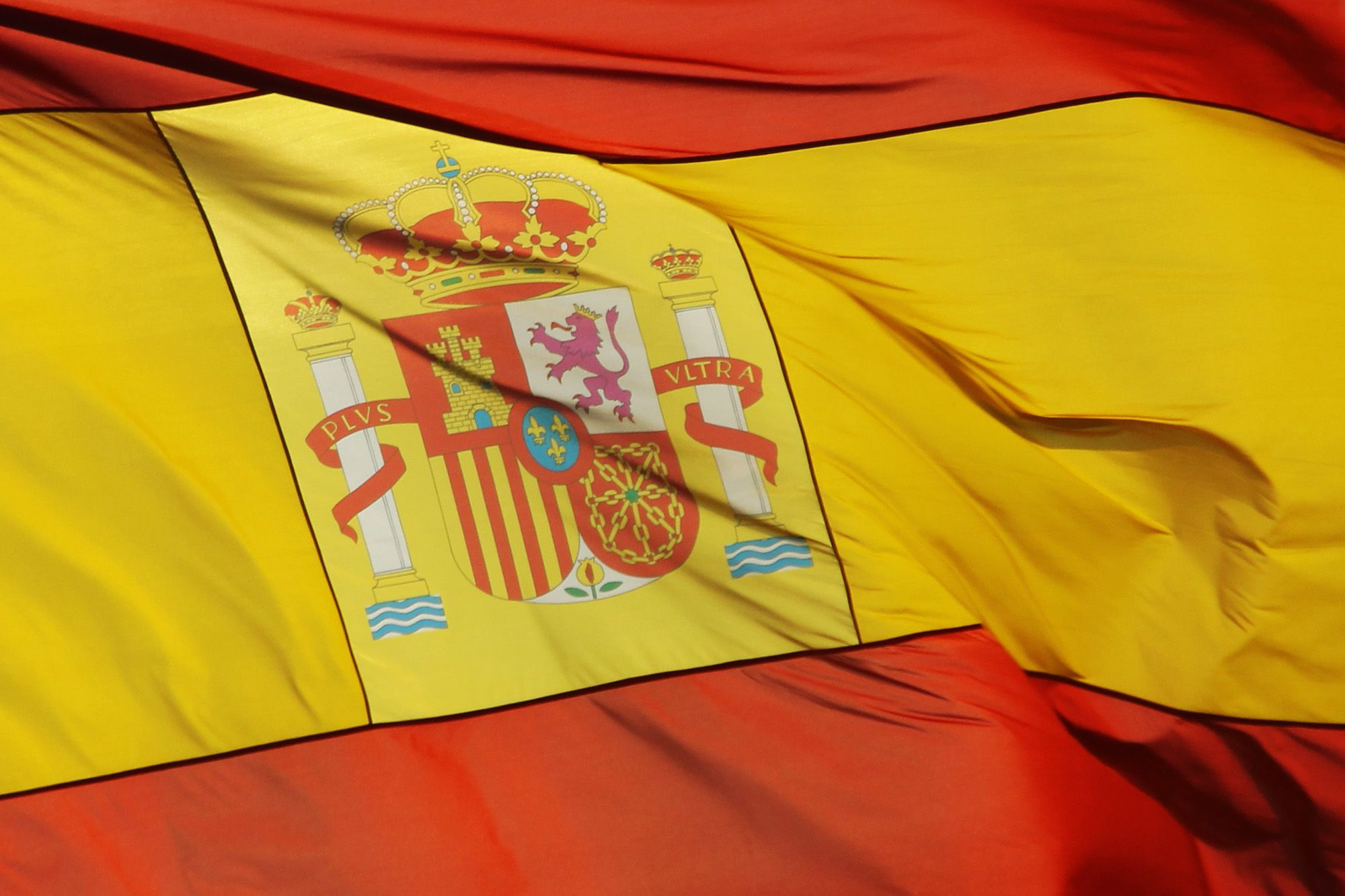 Spanish flag. Courtesy of Elentir under a Creative Commons license.
