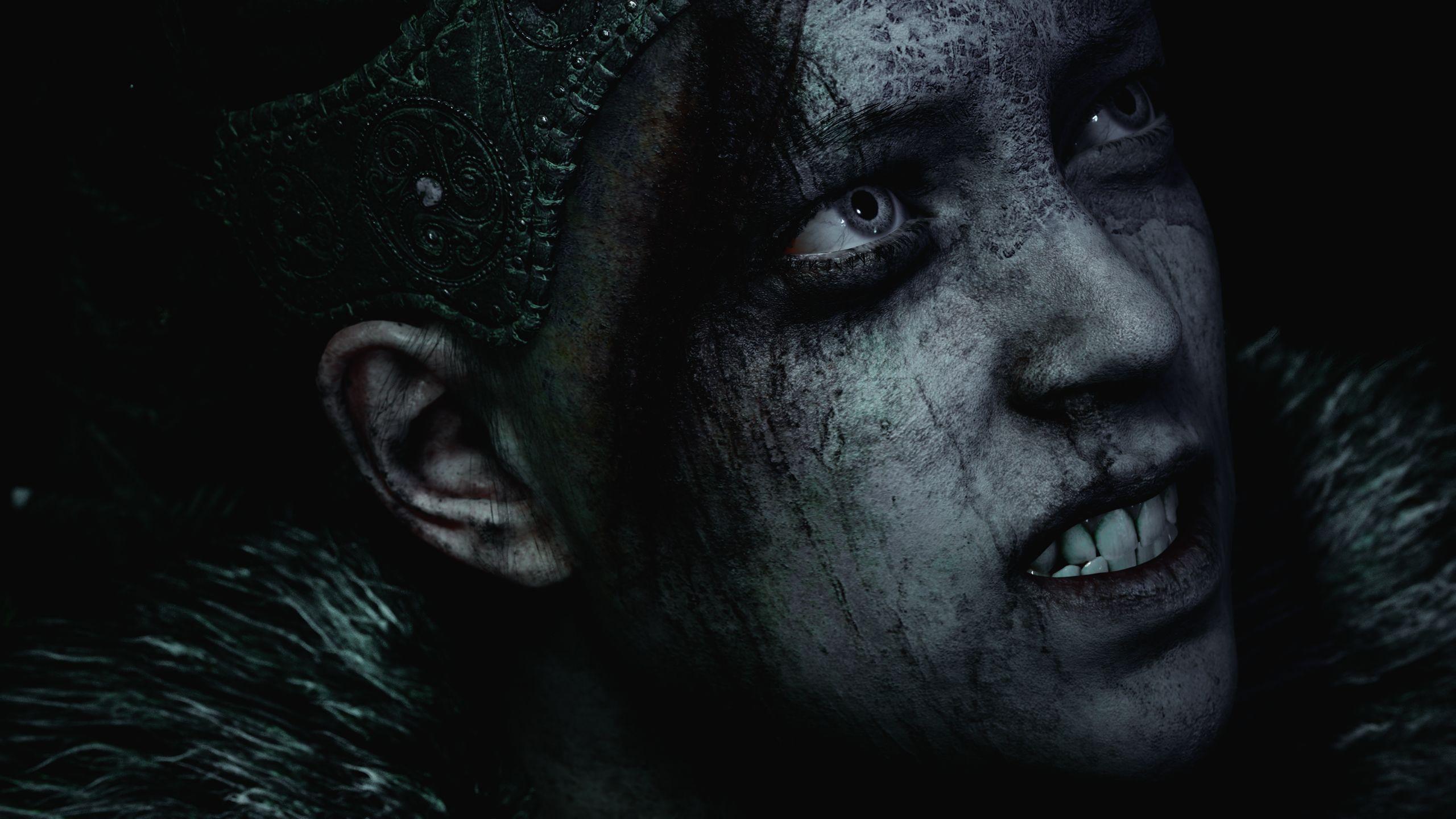 The Pict warrior fighting her inner demons