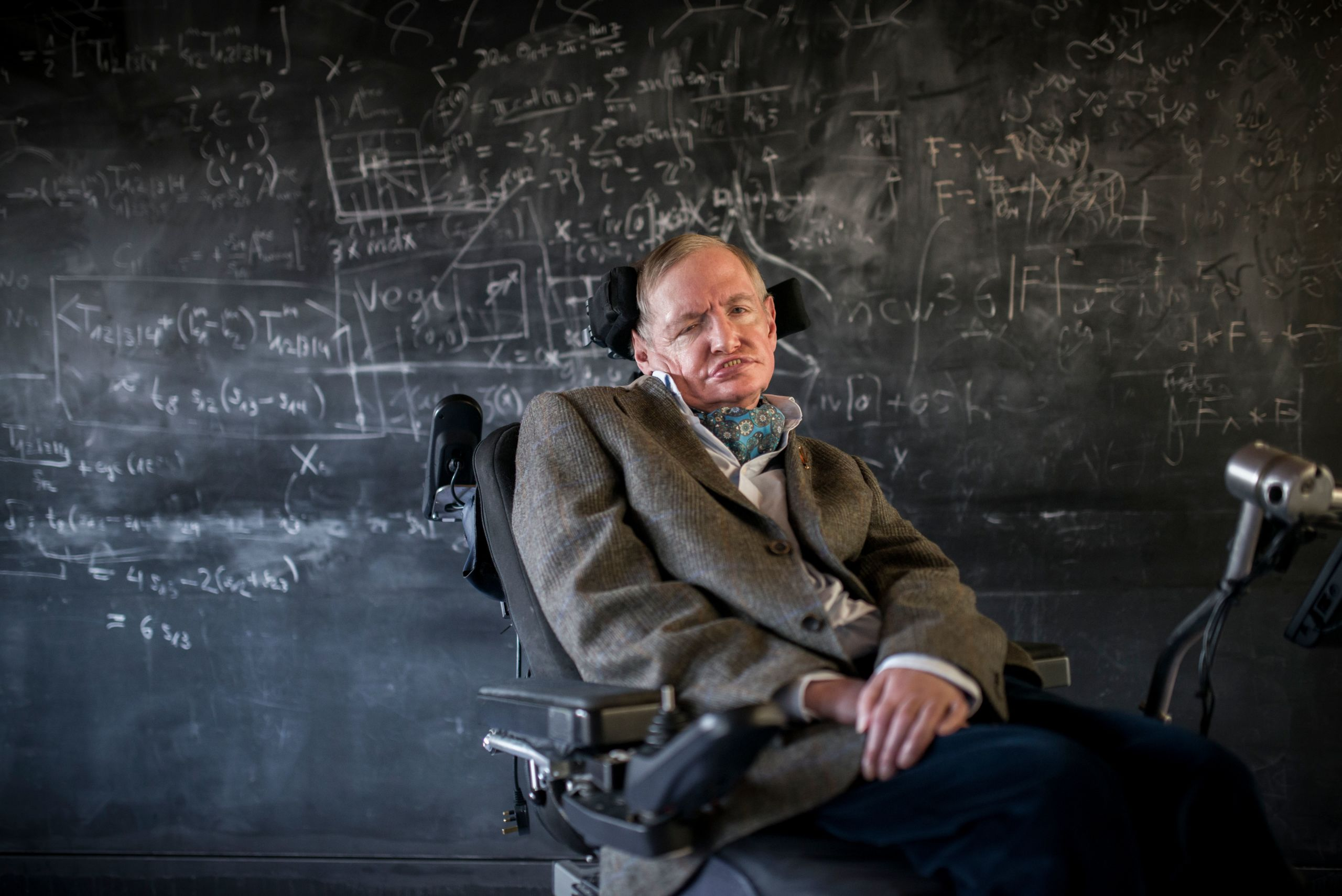 Stephen Hawking Archive saved for the nation