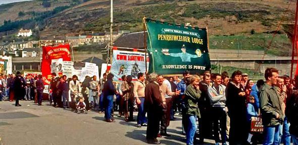 1984 Port Talbot Miners Strike