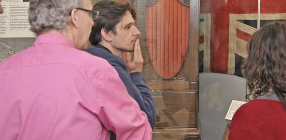 Art Fund judges visit the Polar Museum