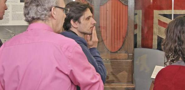 Art Fund judges' visit to the Polar Museum