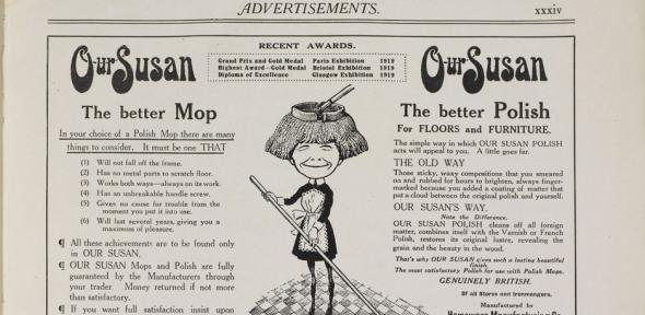 Advertisement from Daily Mail Ideal Labour-Saving Home, 1920