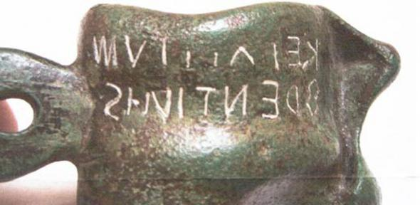 Ancient weight excavated from the east coast of Italy