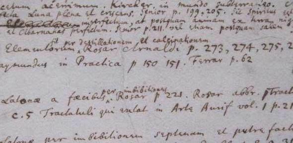 Isaac Newton's Index Chemicus