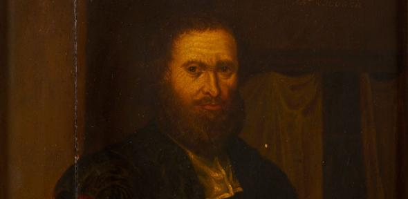 A painting thought to be of Simon Forman
