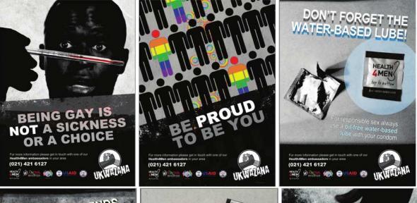 Ukwazana Programme posters