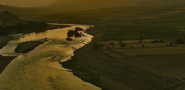 River Dicle from Hasankeyf