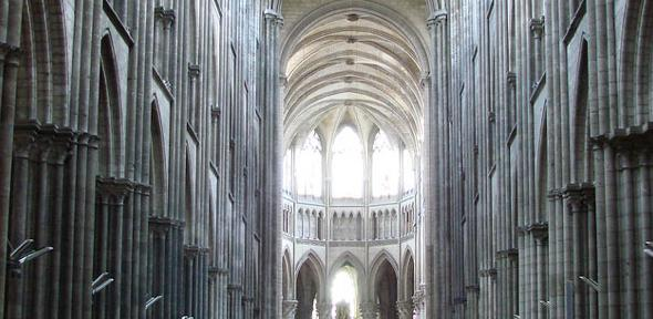 A study of medieval cathedrals