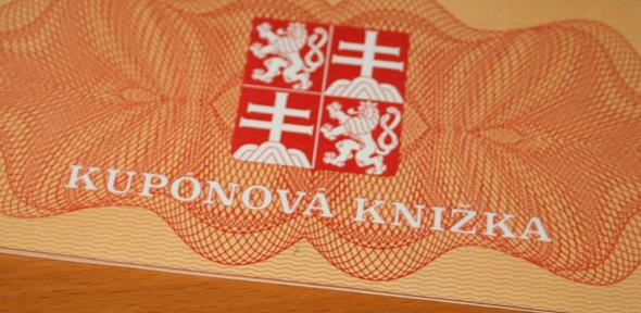 Slovak privatisation voucher.