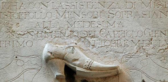 Plaque for the School of the German Shoemakers in Venice,1659