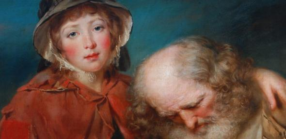 The Blind Beggar and his Grand-daughter