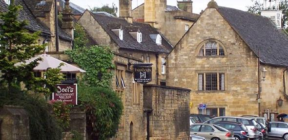Chipping Camden, Gloucestershire. A new report argues that changes to the ways in which housing benefits are administered are likely to force large numbers of people who rent from the council or housing associations in rural areas out of their communities