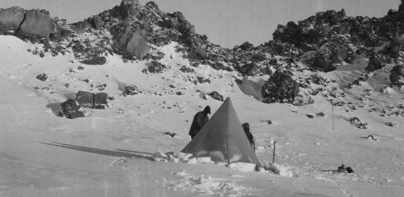 The original 1912 camp