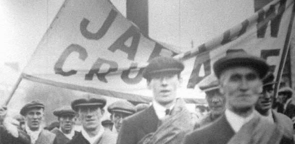 The Jarrow March symbolises austerity in the 1930s