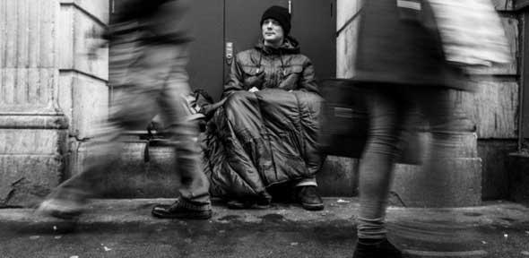 Image result for homeless people black and white