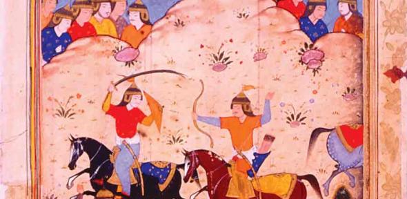 A version of Shahnama: a battle between Iran and Turan
