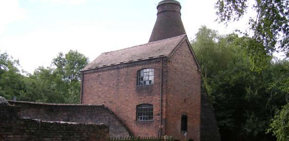 Coalport China Museum - former Coalport Chinaworks - by the River Severn
