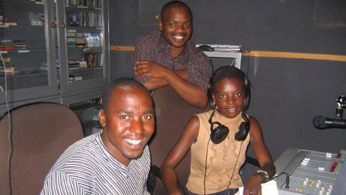 Community radio volunteers, Breeze-FM, Chipata, Zambia