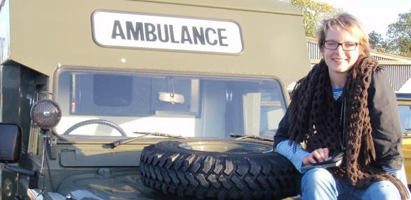 Land Rover ambulance