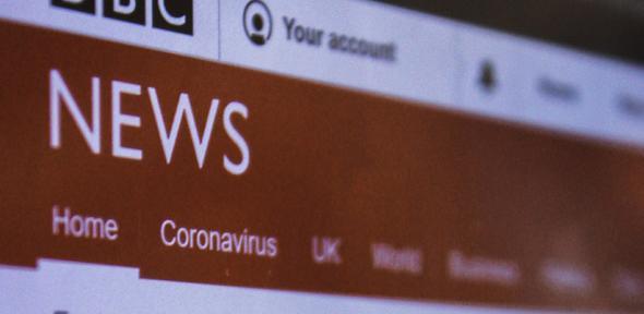 Screenshot of the BBC News website via Unsplash