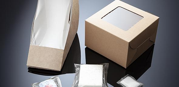 Packaging incorporating Xampla's plant-based plastic