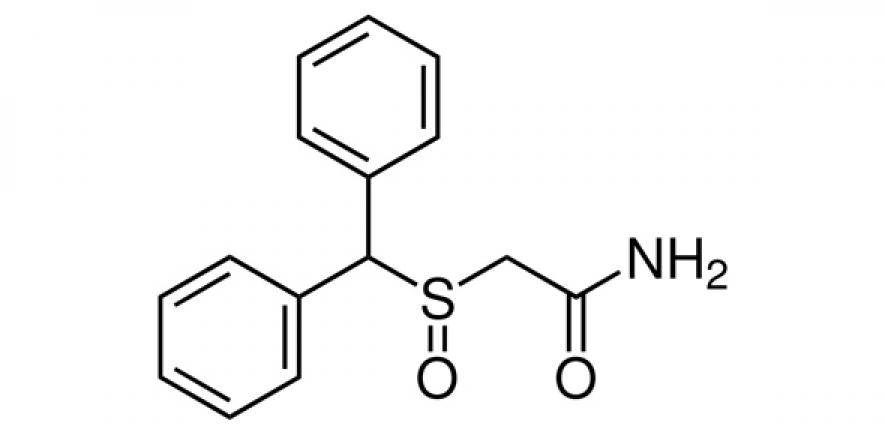 Modafinil, a drug typically used to treat sleep disorders