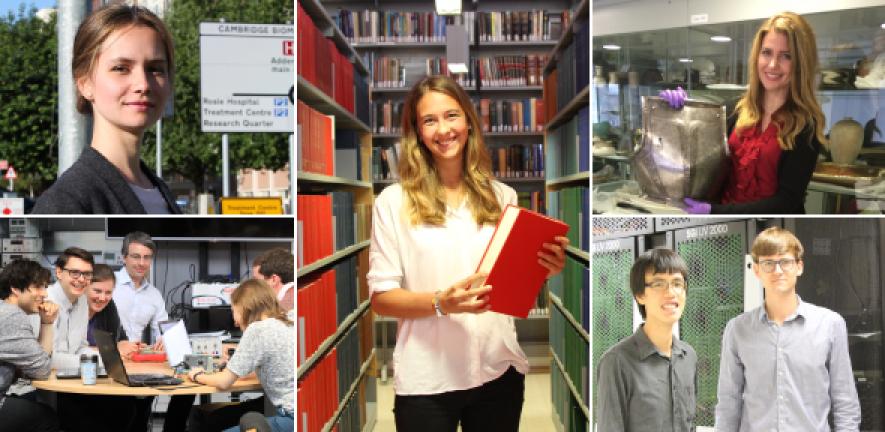 Cambridge's postgraduate pioneers