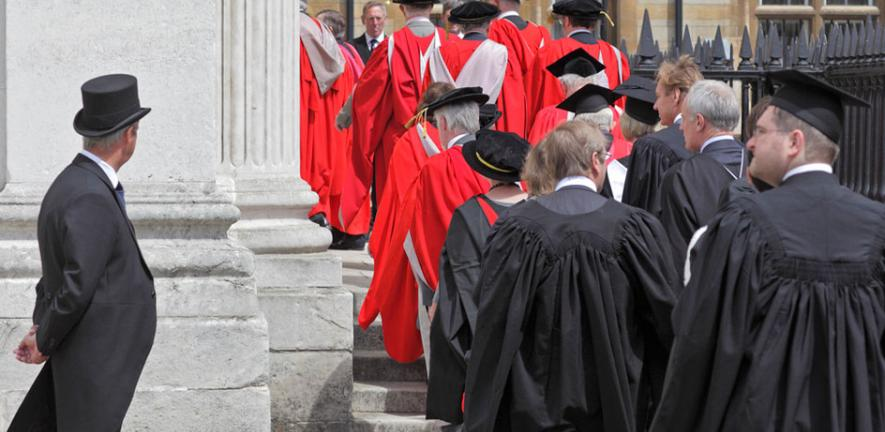 Honorary Degrees procession 2011