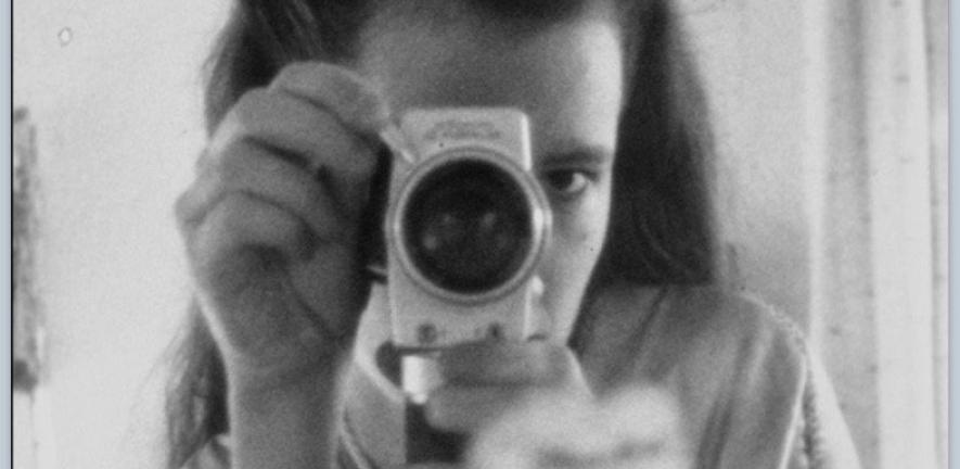 Joanna Hogg behind the lens as a student filmmaker