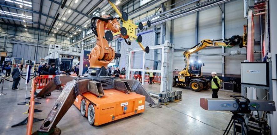 Construction equipment innovations  demonstrated at the Manufacturing Technology Centre