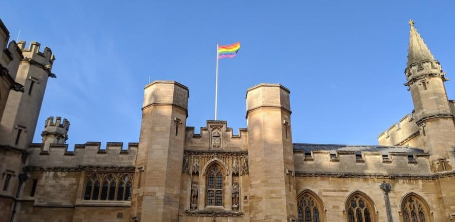 The rainbow flag will again fly over the Old Schools