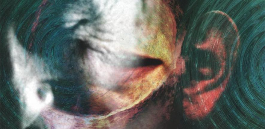 Artist's representation of schizophrenia