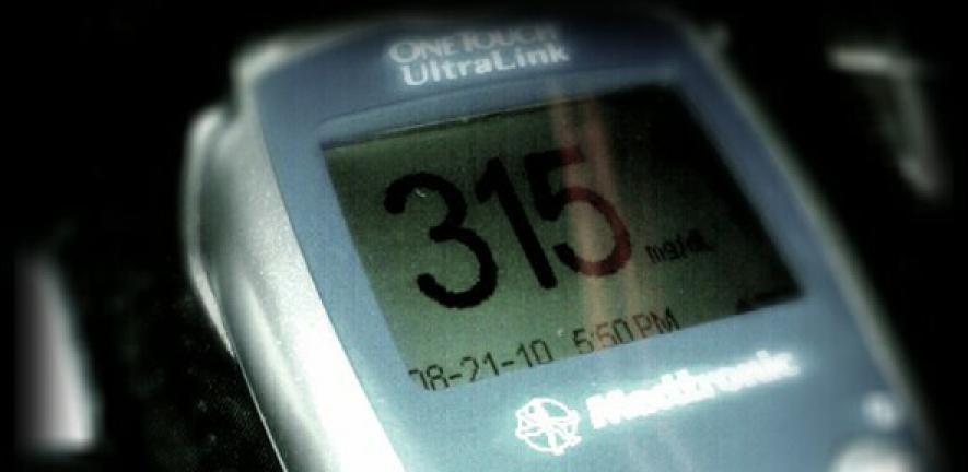 High blood glucose