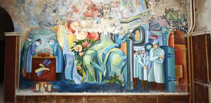 Abandoned Russian hospital