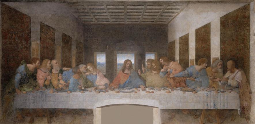 Leonardo Da Vinci's depiction of the Last Supper