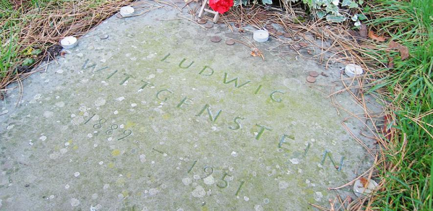 Wittgenstein's grave at the Ascension Parish Burial Ground, Cambridge.