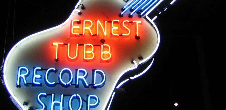Ernest Tubb Record Shop sign