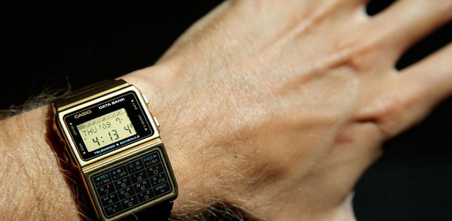 Casio Gold Calculator Watch