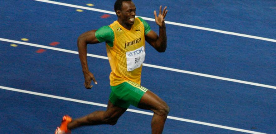 How Usain Bolt can run faster – effortlessly | University of Cambridge