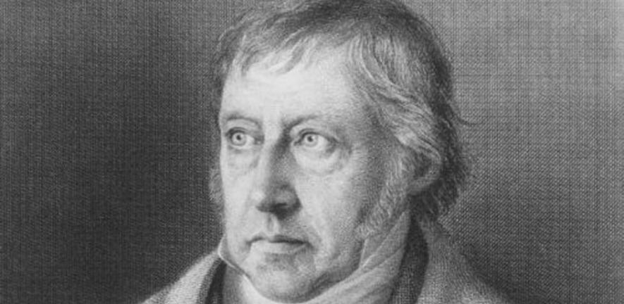 Georg Wilhelm Friedrich Hegel, one of the leading figures in the German Idealist movement.