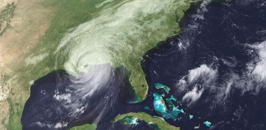 Hurricane Katrina makes landfall in the US. Speaking this week in Cambridge, engineer Tom O'Rourke will describe such disasters as game-changers for those wishing to protect people from similar, future events.